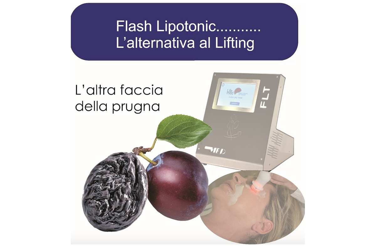 Radiofrequenza viso-corpo Flash Lipo Tonic basic